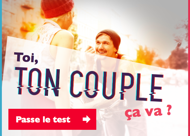 Passe le test de ton couple