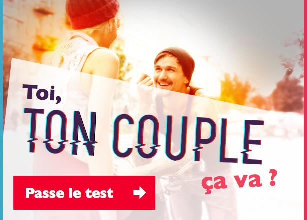 Passe le test de ton couple